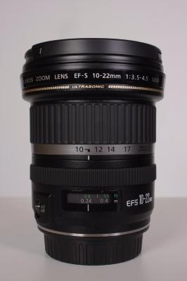 CANON EFS 10-22 mm F:3,5-4,5 USM