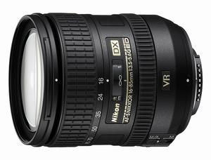 NIKON AFS 16-85 mm F:3,5-5,6 DX VR G ED