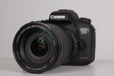 CANON 7D MARK II (2) + EFS 17-55 F:2,8 IS USM