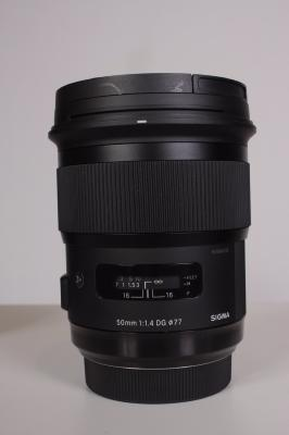 SIGMA 50 mm F:1,4 DG ART MONTURE SONY